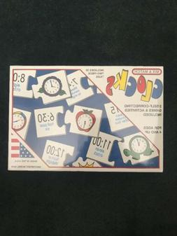 The Clocks Game - Mix And Match - Teaches Kids How to Tell T