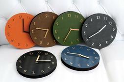 Thehaki Decorative Wall Clock Silent Non-Ticking Quartz Cloc