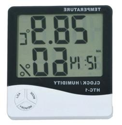 Thermometer Digital LCD Hygrometer Temperature Humidity Mete