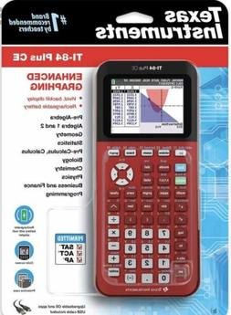 Texas Instruments TI-84 Plus CE Color Graphing Calculator -