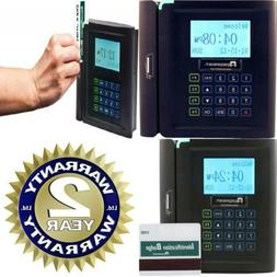 Acroprint timeQplus Magnetic Stripe Time and Attendance Syst