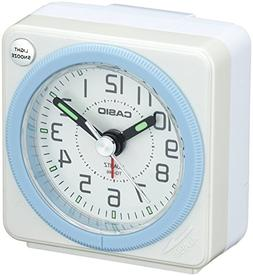 CASIO TQ-146-7JF analog travel clock alarm clock  by N/A