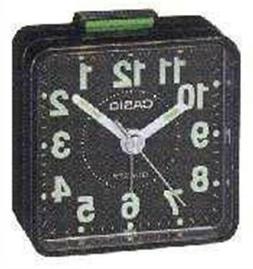 Casio TQ140-1 Tq140 Travel Alarm Clock - Black