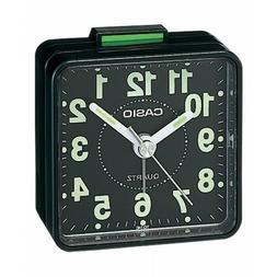 TQ140 Travel Alarm Clock - Black