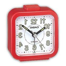 Casio TQ141-4 Tq141 Alarm Clock - Red