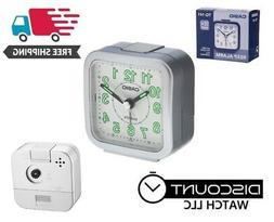 Casio TQ141-8D Travel Wake Up Timer Analog Travel Small Alar