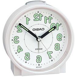 Casio Tq228-7df Round Travel Table Top Alarm Clock