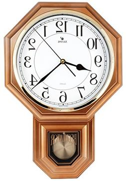 Hot Selling Traditional Schoolhouse Pendulum Wall Clock Chim