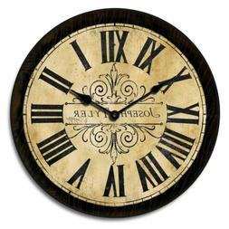 Tuscan Villa Wall Clock For Home Decoration Handmade Silent