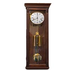 Hermle Two Weight Westminster Chime Wall Clock in Mahogany F