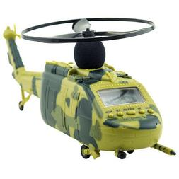 Unique Helicopter Alarm Clock Aircraft Taking Off and Landin