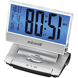 Westclox LCD USB Charging Alarm Clock