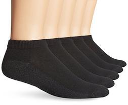 Fruit of the Loom Mens Value Pack Low Cut Socks - 6 Pairs