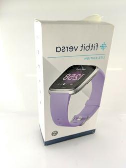 Fitbit Versa Lite Edition SmartWatch activity tracker silver