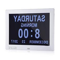 InLife Premium Version Day Clock Extra Large Impaired Vision