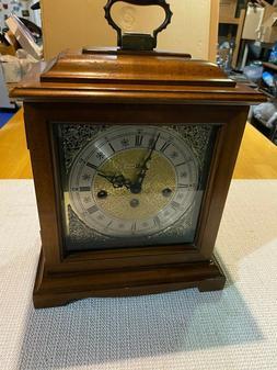 VINTAGE CLOCK HOWARD MILLER MANTLE CLOCK WEST GERMANY
