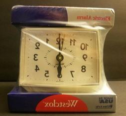 VINTAGE WESTCLOX ELECTRIC ALARM CLOCK 22189 BOLD II - FACTOR