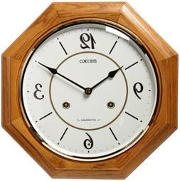 "Seiko Vinton 12.5"" Musical Wall Clock"