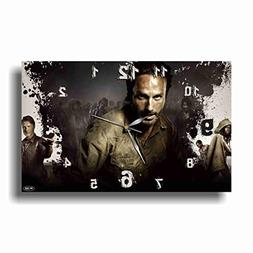"ART TIME PRODUCTION The Walking Dead 17"" x 11"" Handmade Wall"