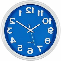 Large Wall Clock- Modern Stylish Quality Quartz, Home Kitche
