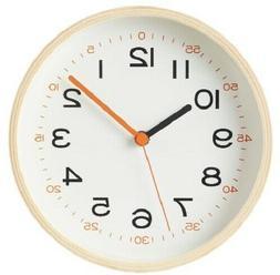 MUJI Wall Clock Child Analog Clock for Kids Room ship from J