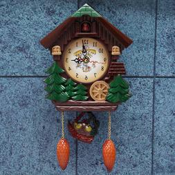 Wall Clock Cuckoo Clock Living Room Bird Alarm Toys Modern B