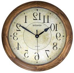 Adalene 14-Inch Large Wall Clock Decorative Living Room Mode
