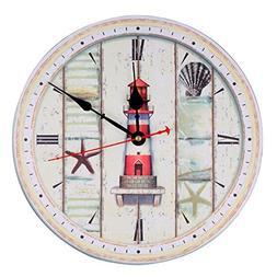 KI Store Wall Clock Decorative Silent Wall Clock Non Ticking