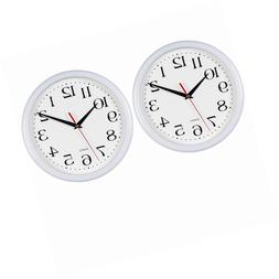 Wall Clock For Home Garden Patio Indoor Outdoor Decor Weathe