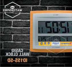 Casio Wall Clock ID15S-5D ID15-5D ID15S-5 ID15-5