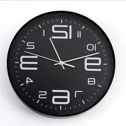 Wall Clock Modern Design Large Round Wall Clock Watch Home D
