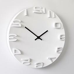 Wall Clock Simple Modern Design Nordic Large Clocks Digital