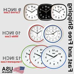 CAMY Wall Clock- Super Silent Non Ticking - Quartz Battery O