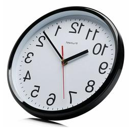 Wall Clocks Battery Operated Non Ticking Large for Kitchen L
