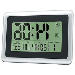 HeQiao Digital Wall Clocks Large Decorative Silent Desk Cloc