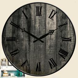 Wall Clocks Village Room Home  Decor Kitchen Hanging Watch L