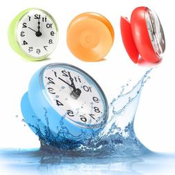 Waterproof Wall Suction Bath Shower Clock Watch for Window G