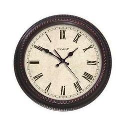 Westclox CLO 20 Round Quartz Wall Clock