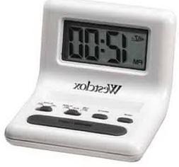 Wht Celebrity Glo-Clock .8Lcd