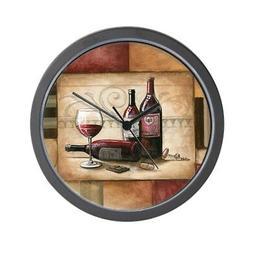 "CafePress - Wine And Chocolate 2 - Unique Decorative 10"" Wal"