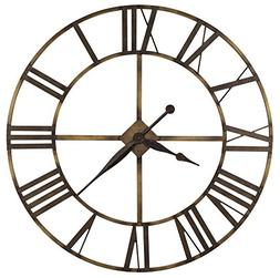 Howard Miller 625-566  Wingate Wall Clock - Antique Brass