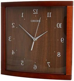 Seiko Wood Wall Clock
