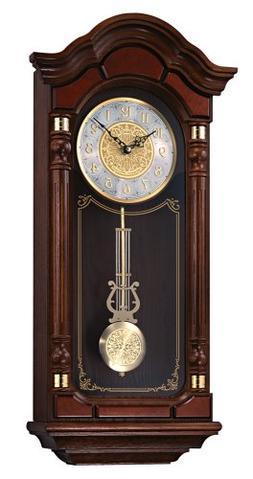 Seiko Wooden Wall Clock QXH004BLH