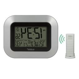 La Crosse Technology WS-8115U-S-INT Atomic Digital Wall Cloc