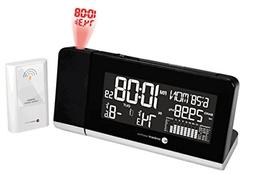 Ambient Weather WS-8460 Projection Clock with 256 Color Chan