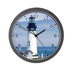 "CafePress - Yaquina Lighthouse - Unique Decorative 10"" Wall"
